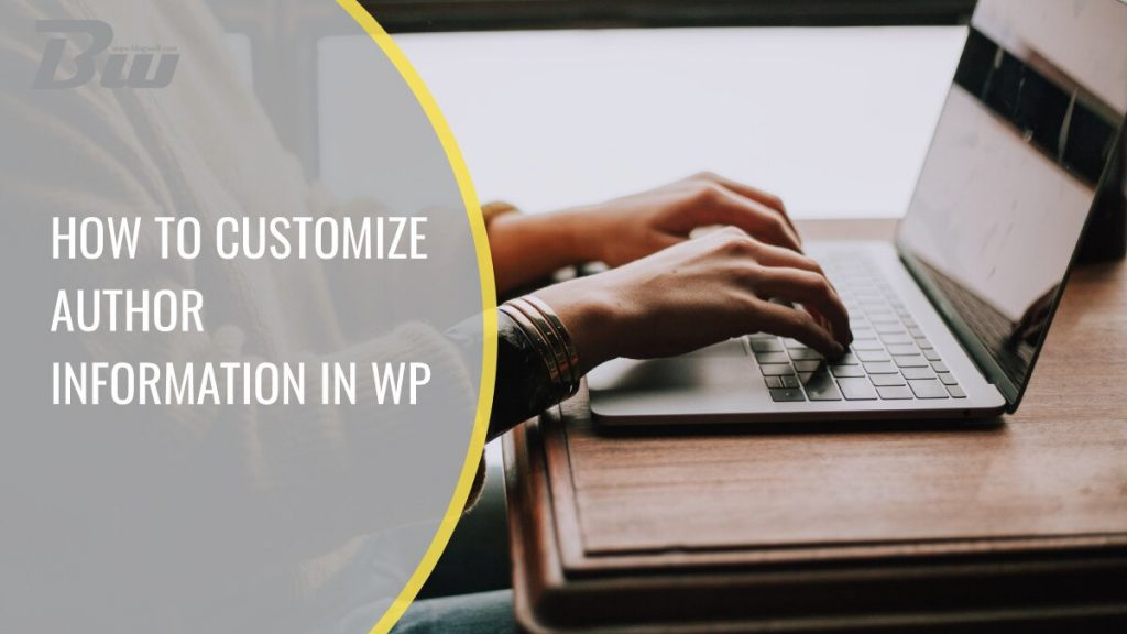 How to customize and change author information in WordPress quickly and easily