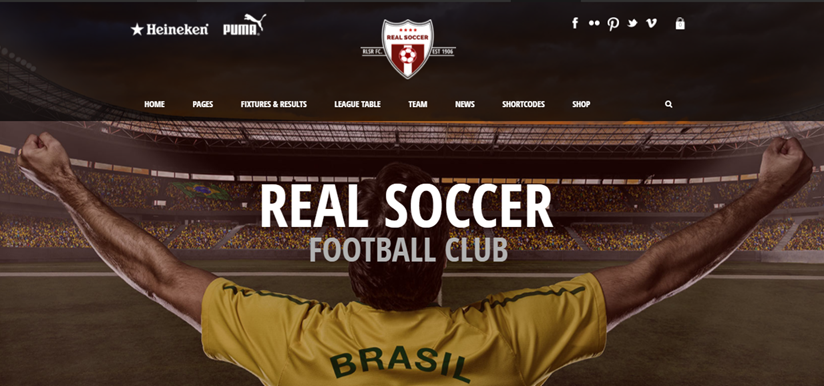 Real Soccer demo page