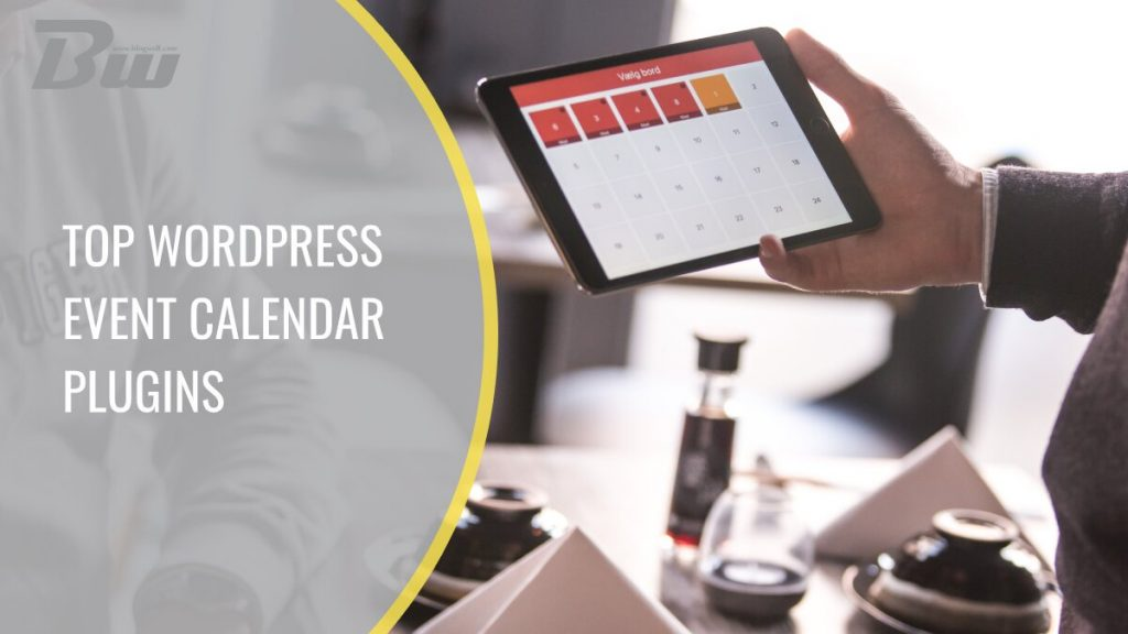 Top seven WordPress event calendar plugins