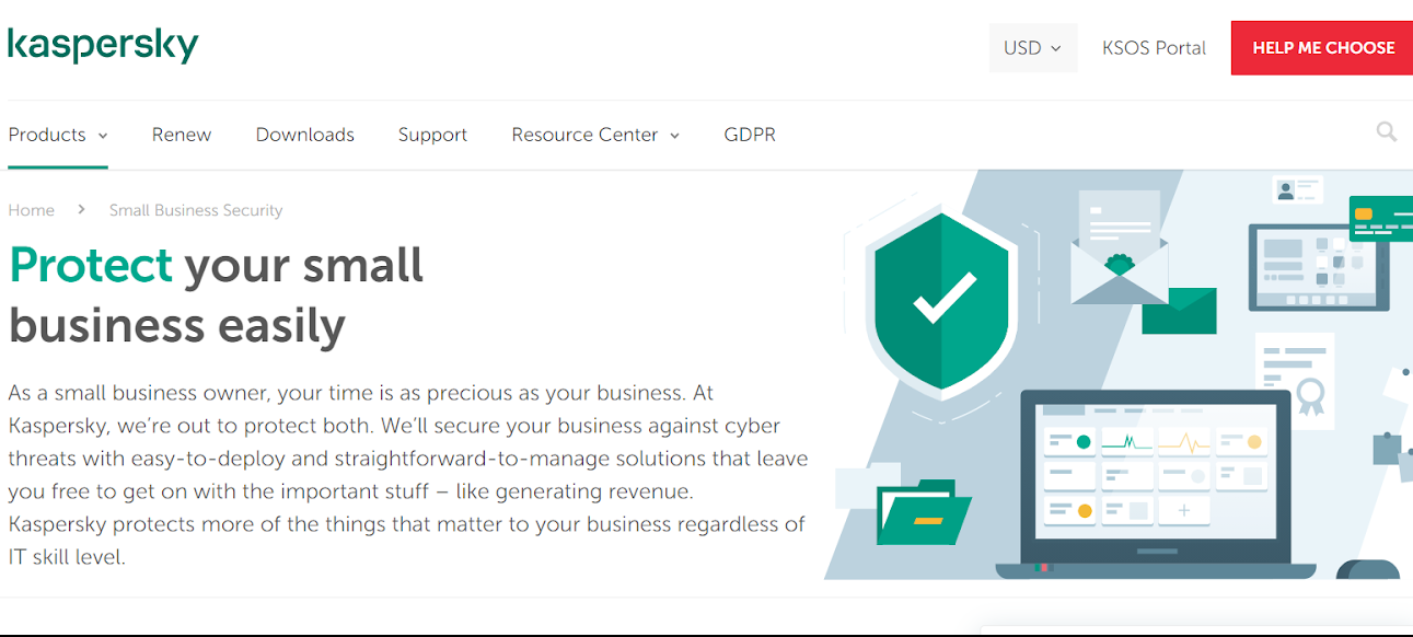 Kaspersky small business