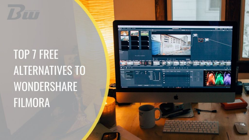 Top free alternatives to Wondershare Filmora