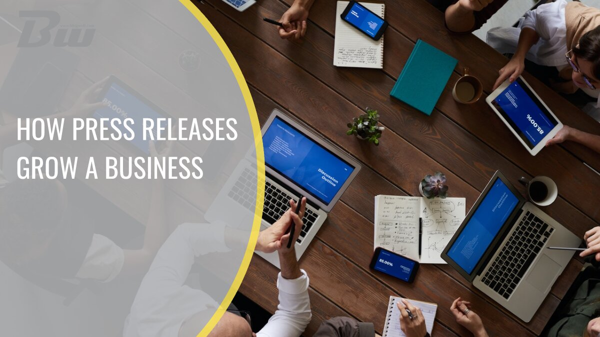 How press releases grow a business