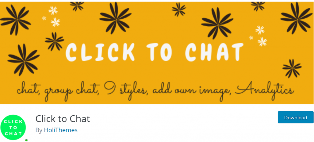 Click to Chat banner