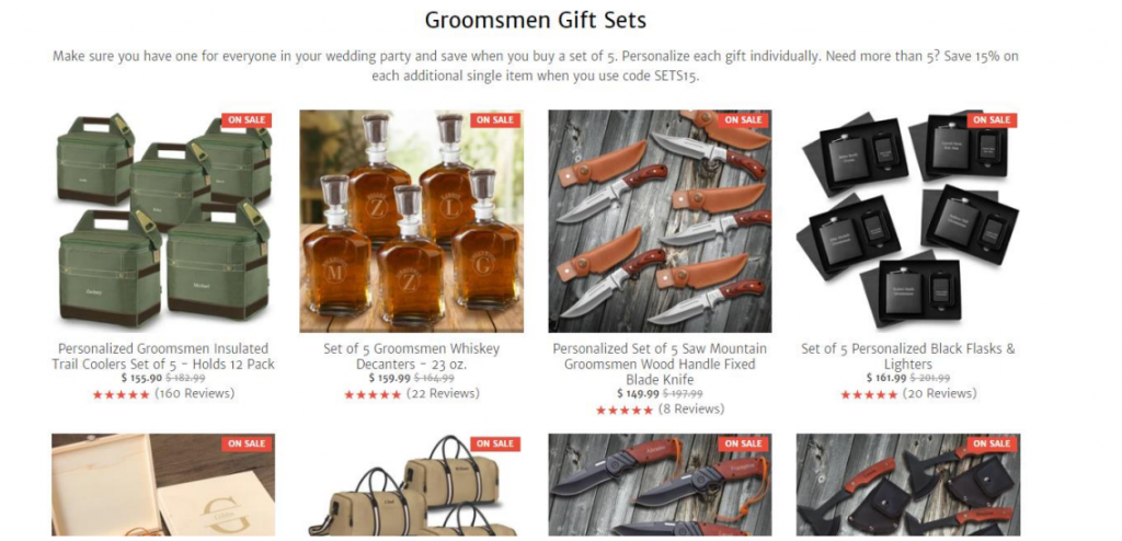 GroomsShop products